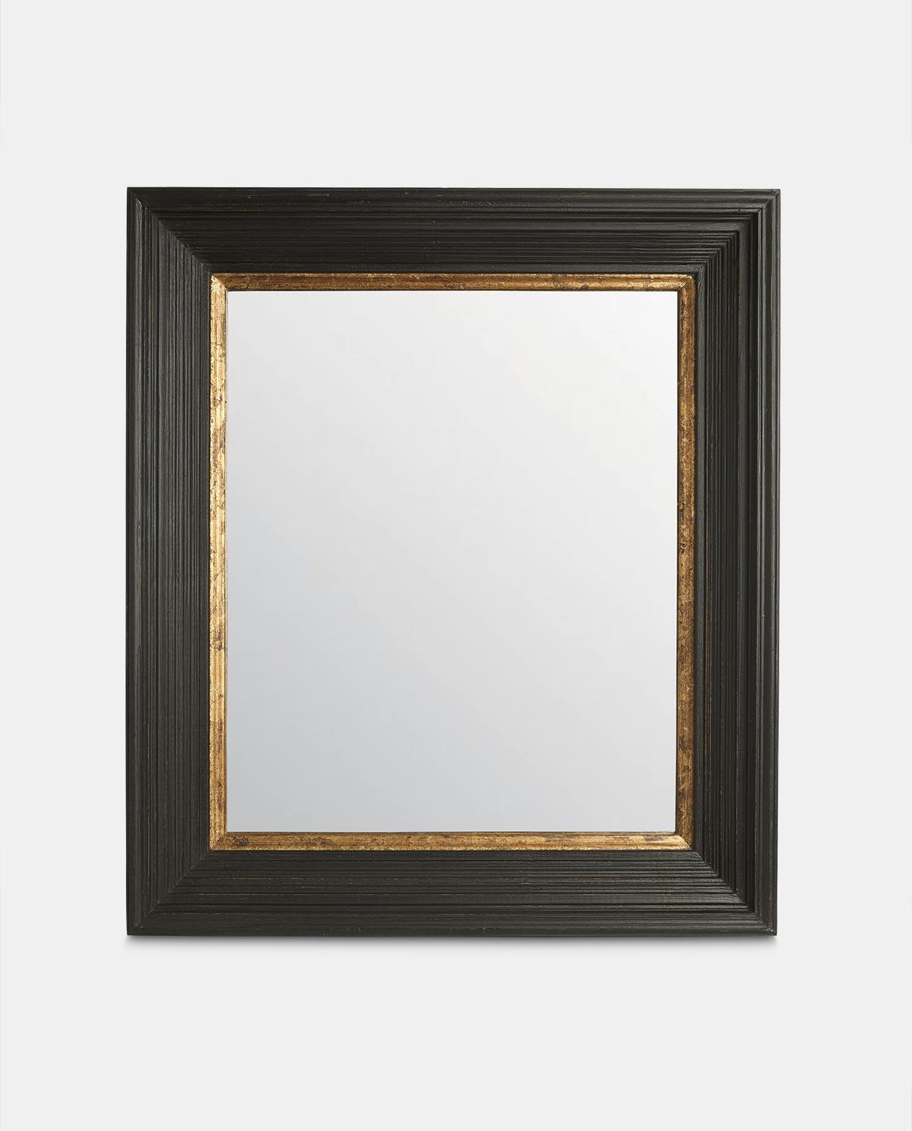 Altair Black & Gold Mirror 78cm x 68cm