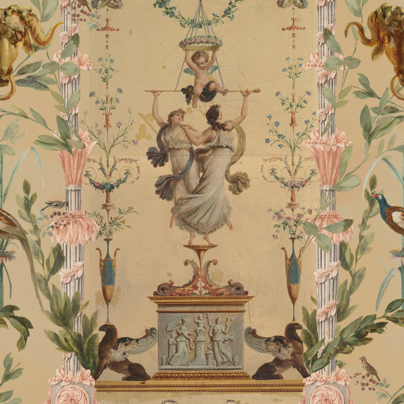 DANCING GRACES Wallpaper