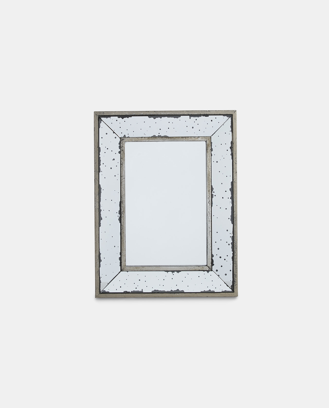 Vintage Layered Glass Mirror