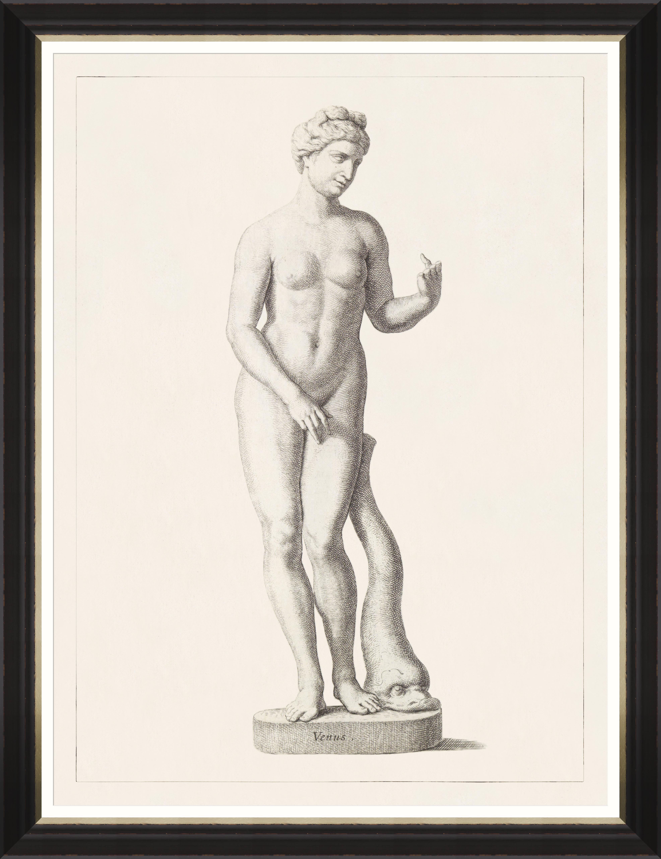GREEK GODDESS AND GODS - VENUS Framed Print