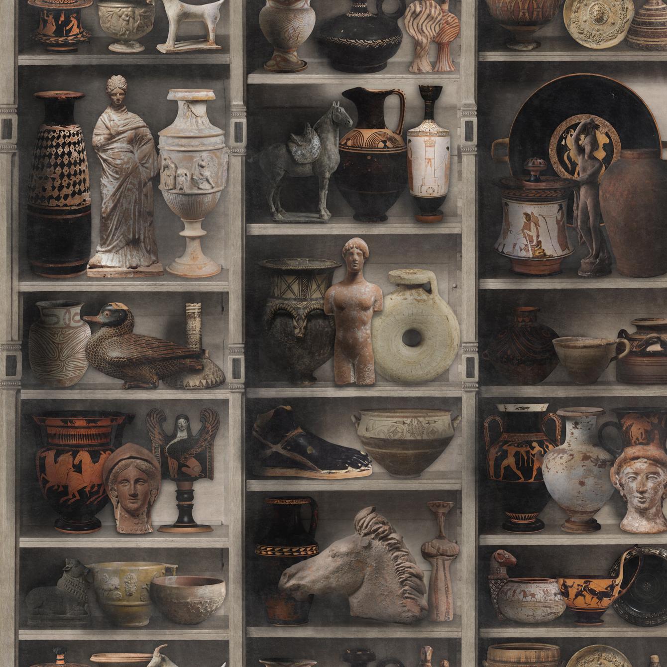 GREEK POTTERY Wallpaper