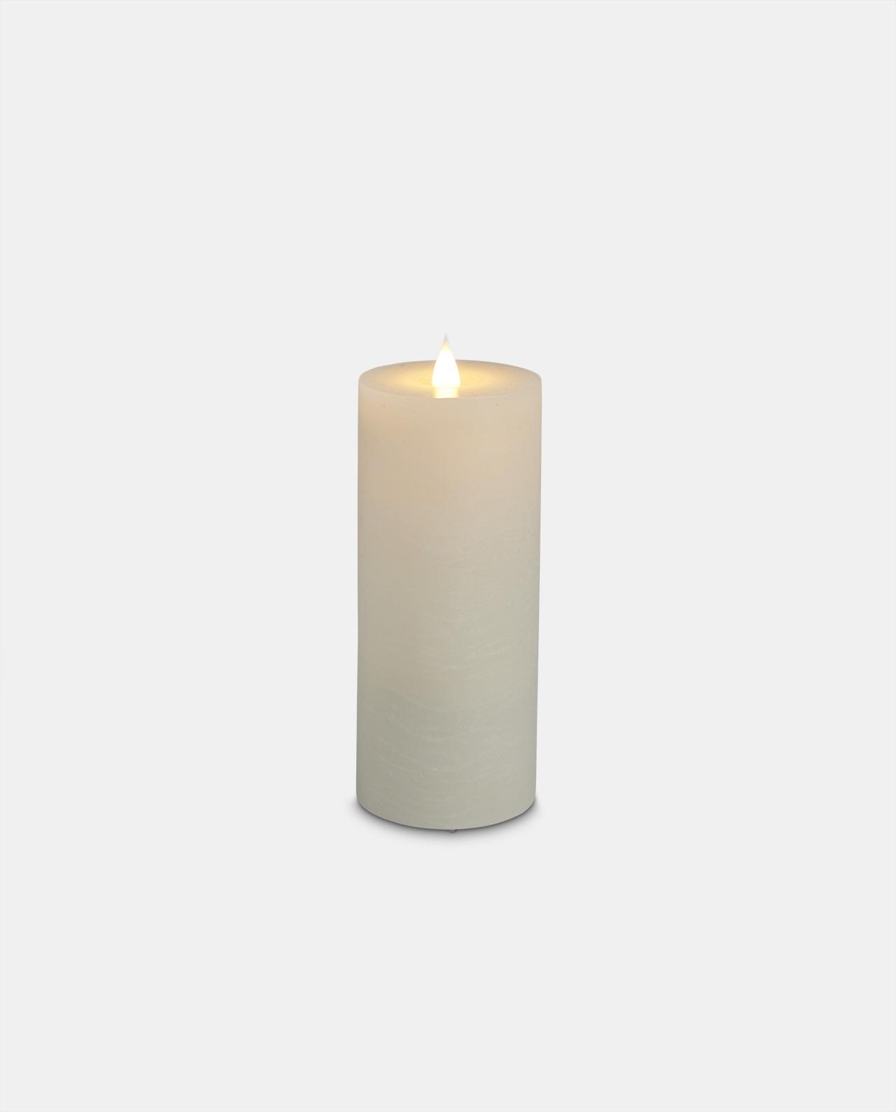 Ivory Wax LED Candle 17.5cm