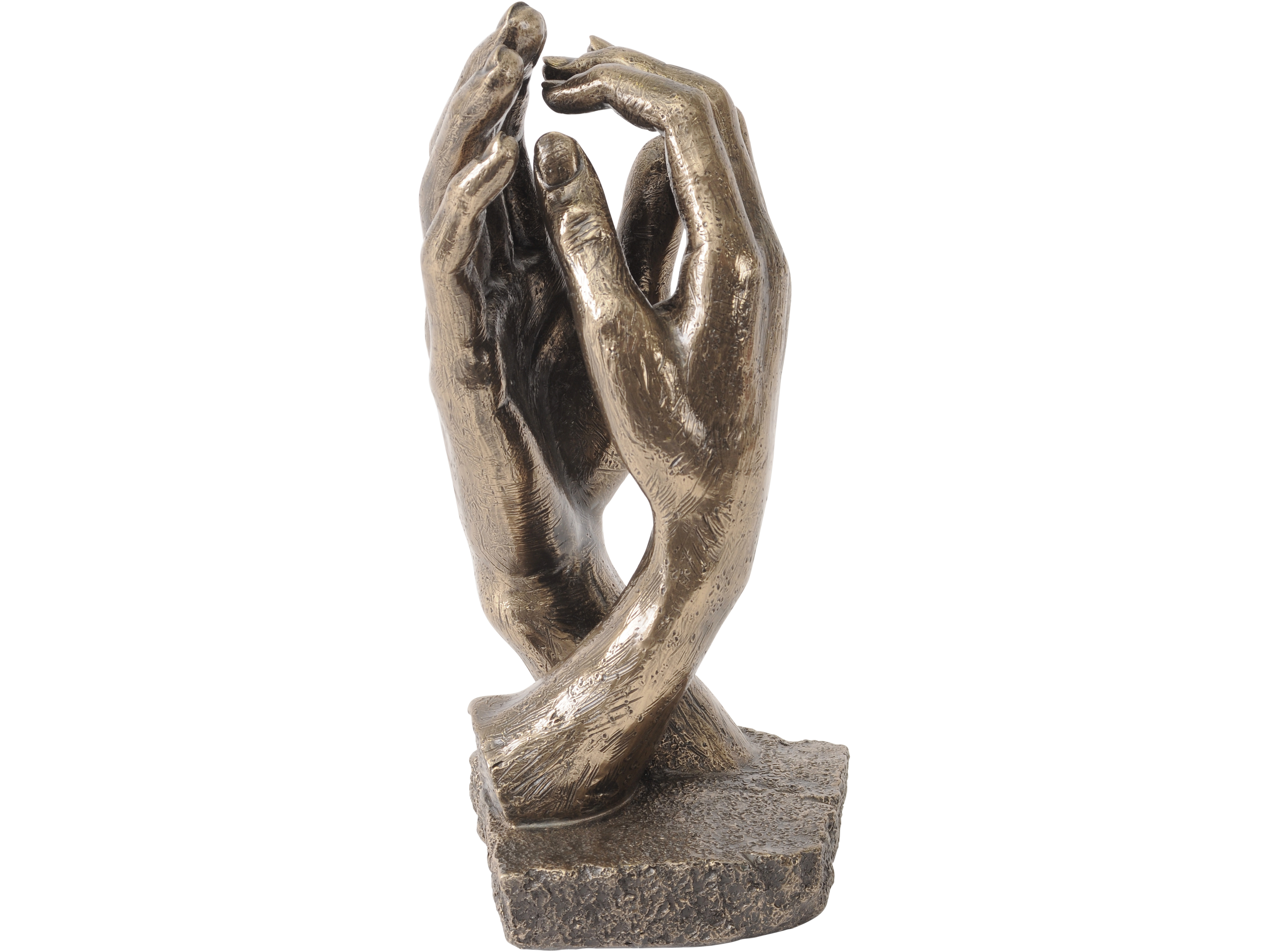 Clasping Hands Sculpture