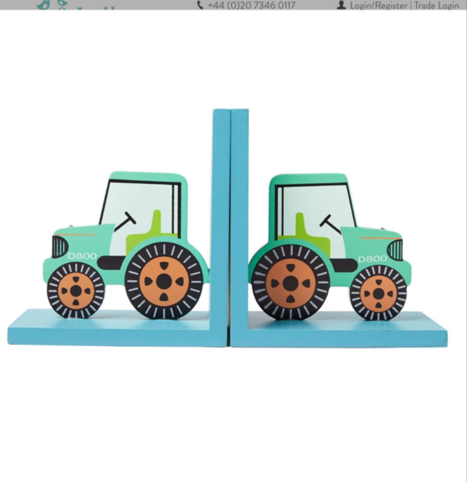 Traktor Bokstöd