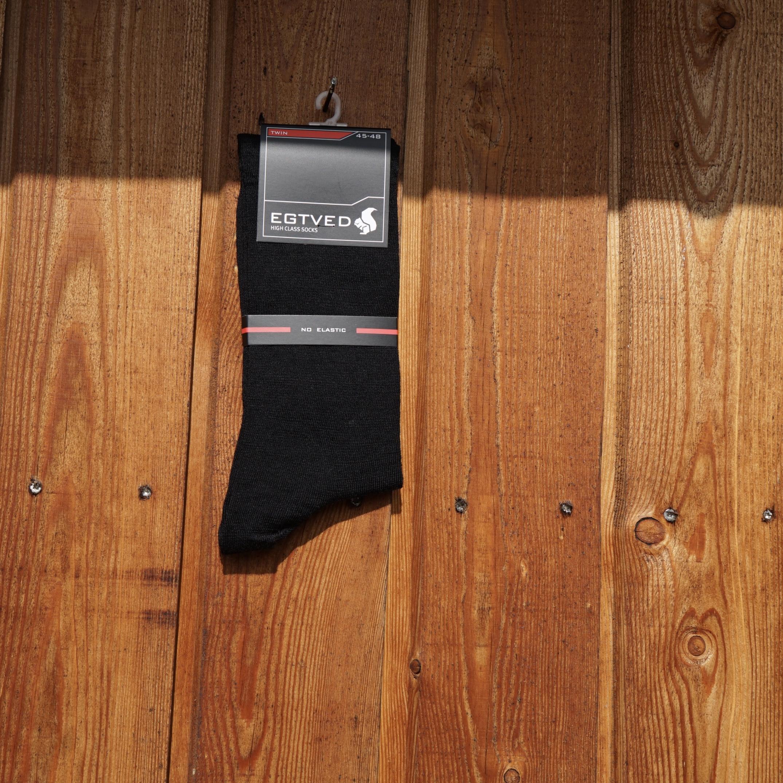 Egtved sort strømpe 56272
