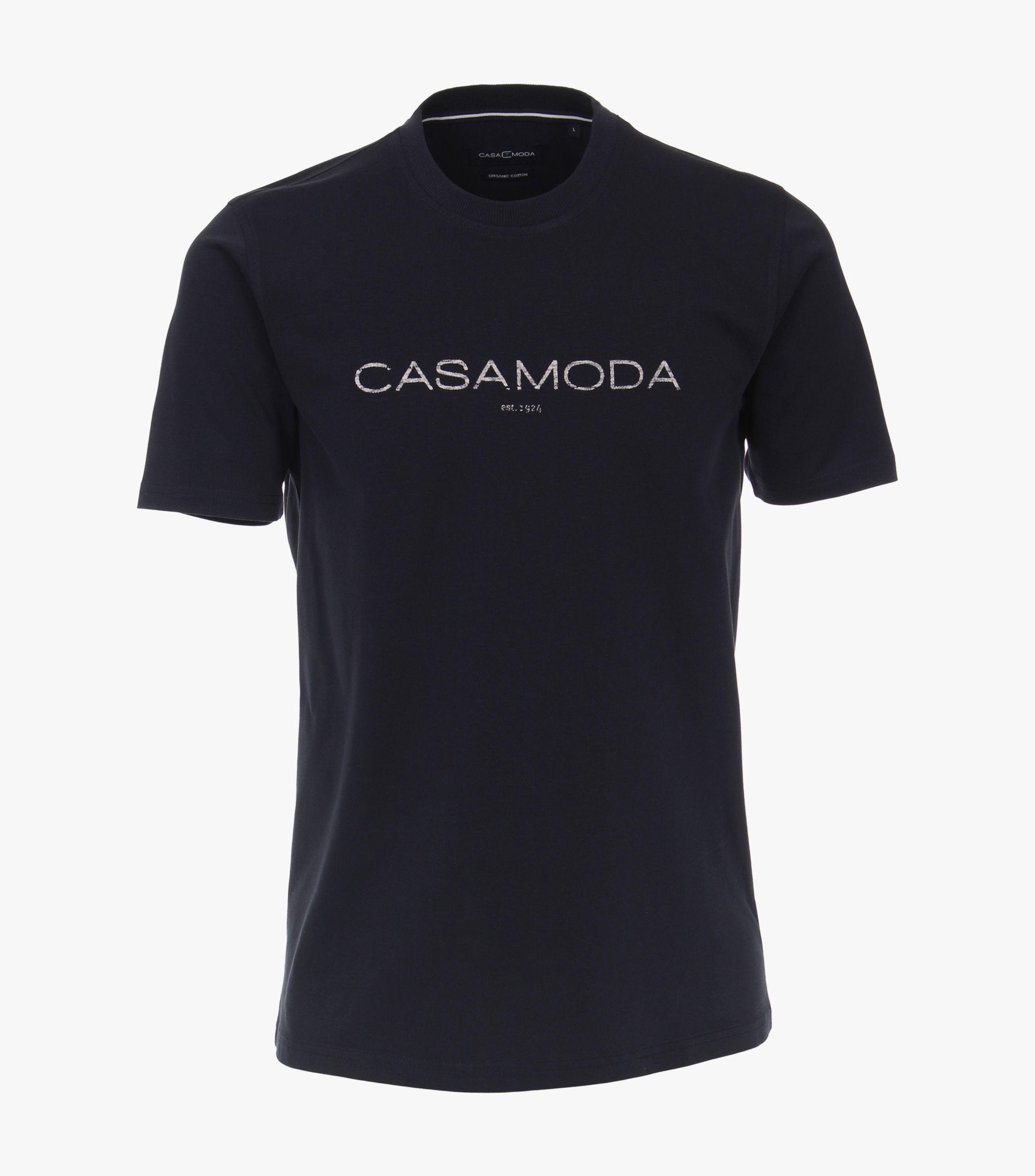 Casa Moda organic t- shirt Marine blå 903490700