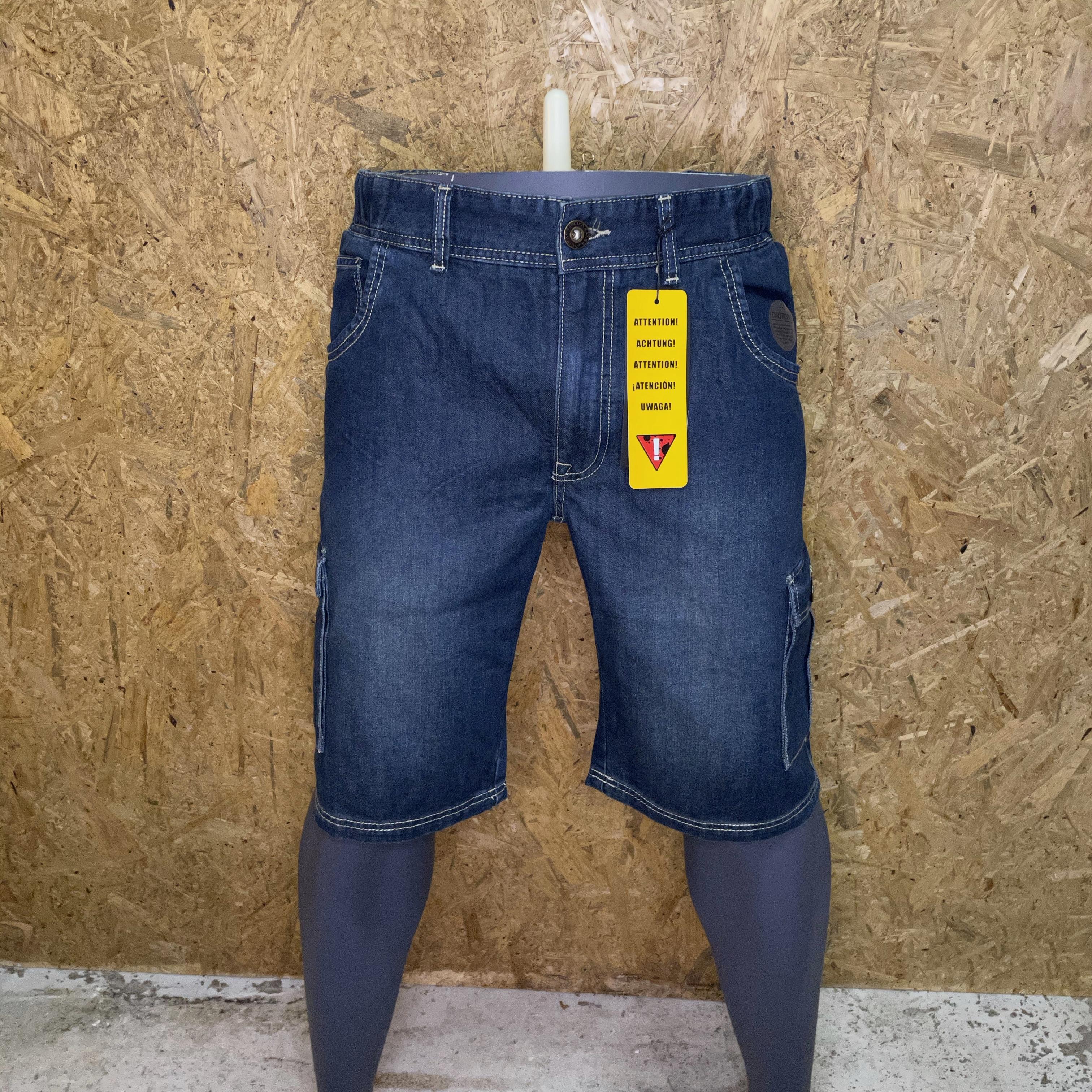 Replika Jeans elastik talje shorts11309