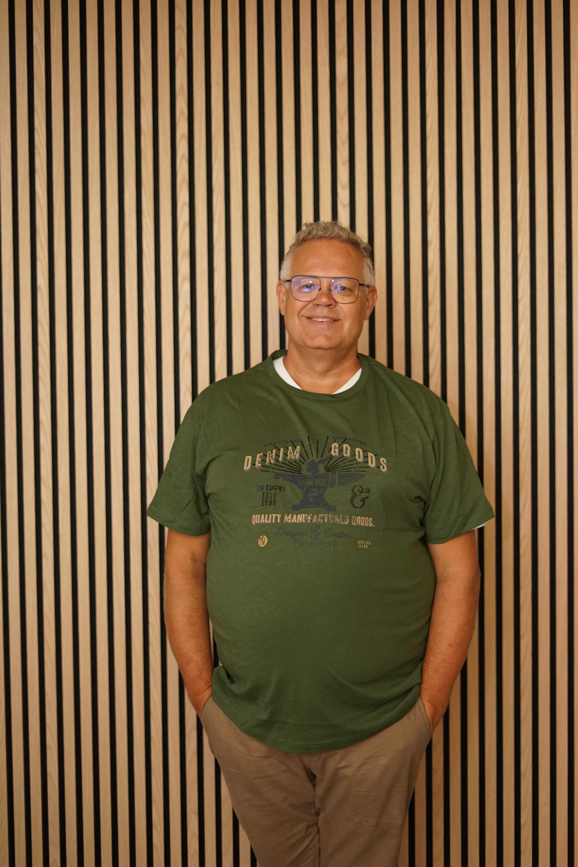 Replika t-shirt grøn 13355/680