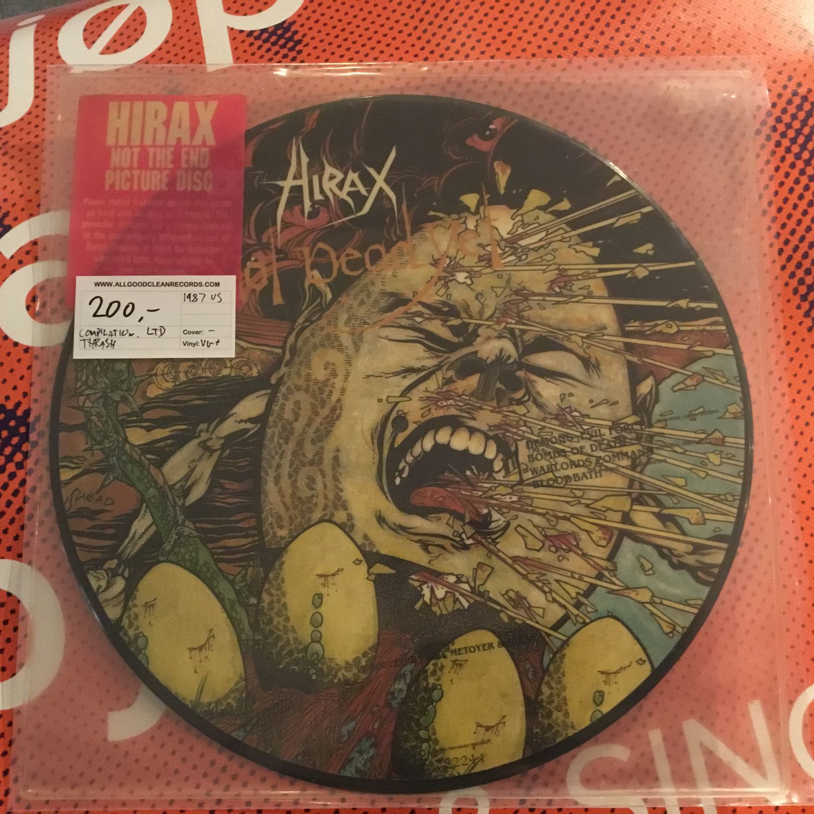 Hirax – Not The End [LP Picture Disc] (2. hand)