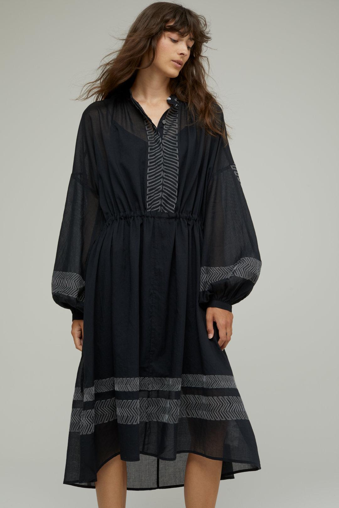Bomullsbroderad klänning - Closed (-25%)