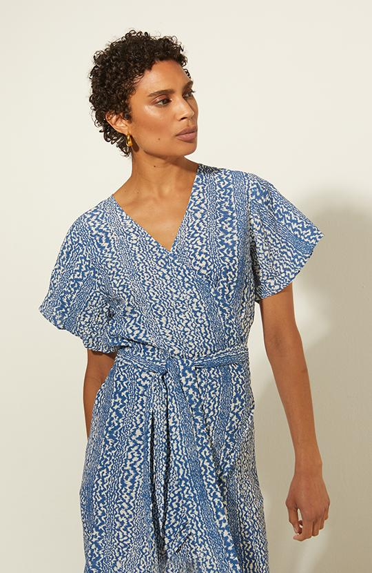 Barbara wrap dress - Marville