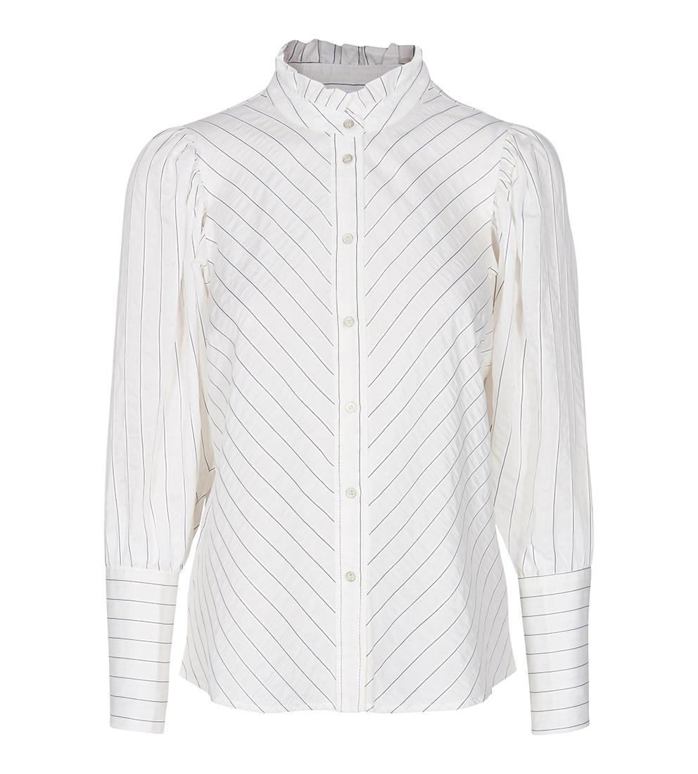 Dina Puff Stripe Shirt - Co Couture