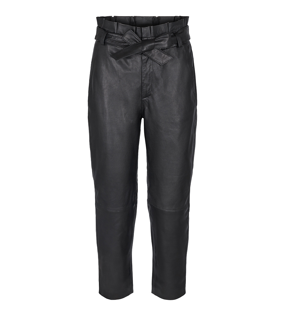 Phoebe Leather Pant - Co Couture