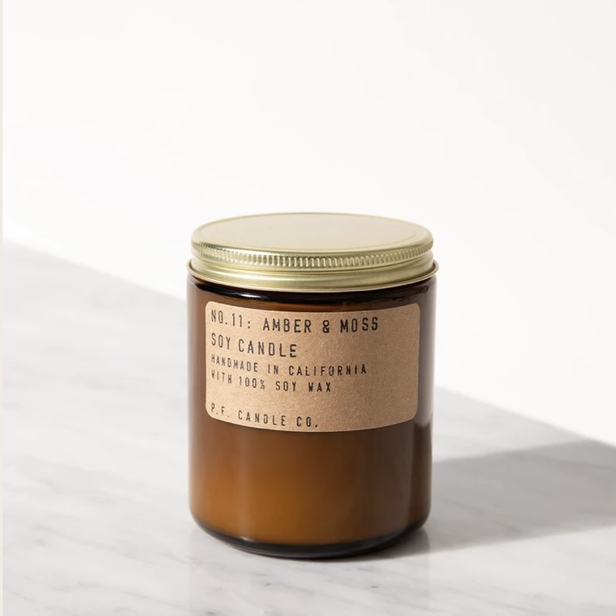 Amber & Moss - P.F CANDLE CO.