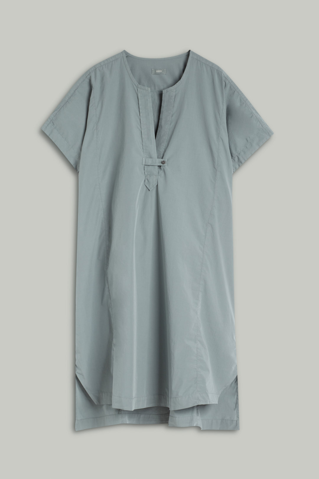 Oversized Poplin Dress - Closed