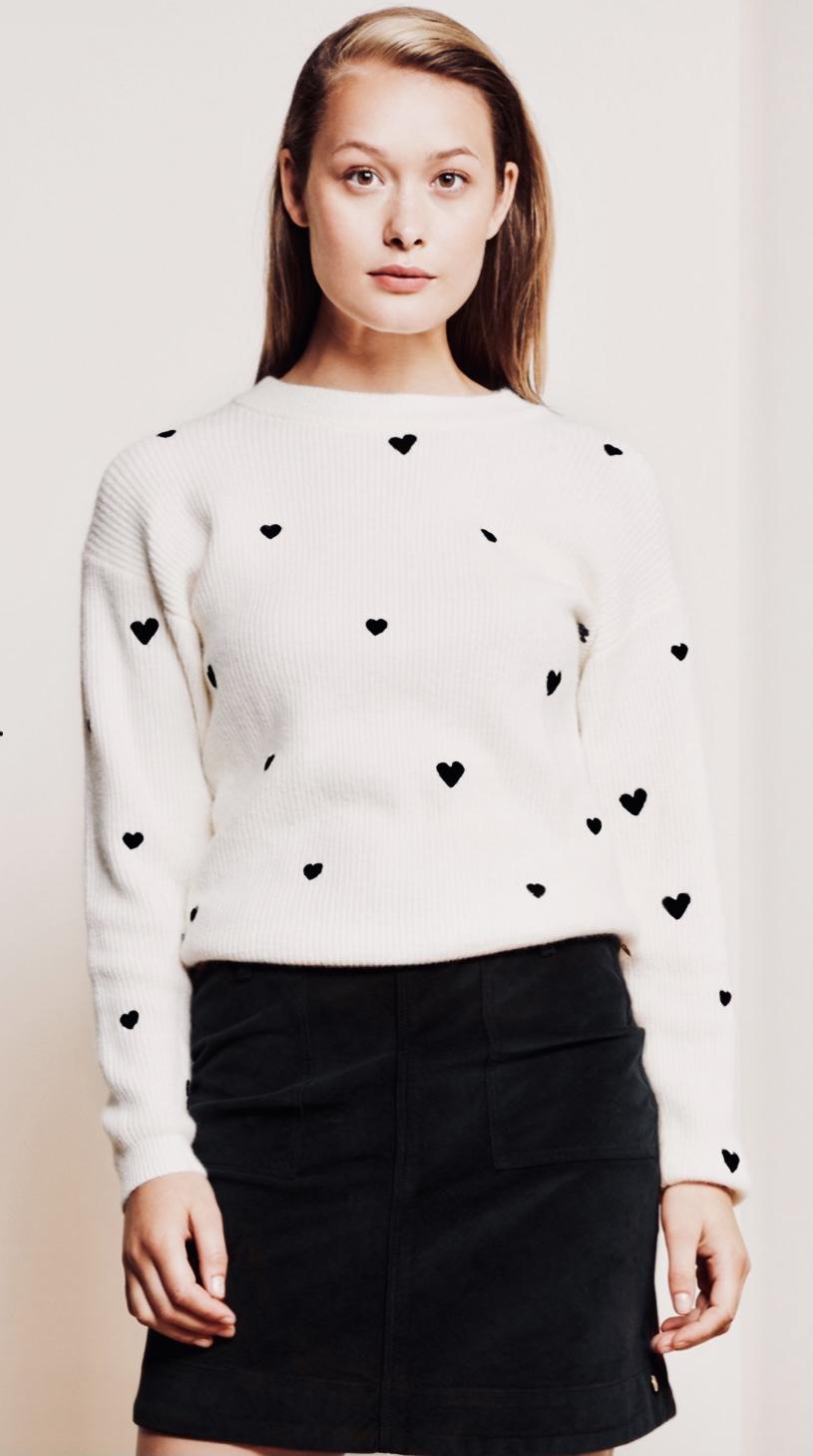 Hjärt Pullover - Fabienne Chapot