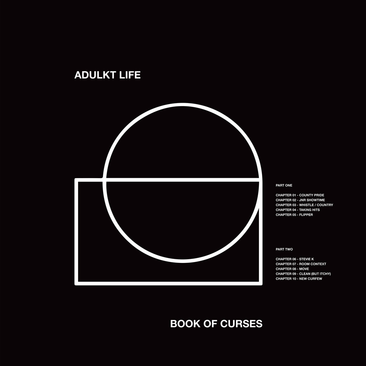Adulkt Life - Book Of Curses [LP]