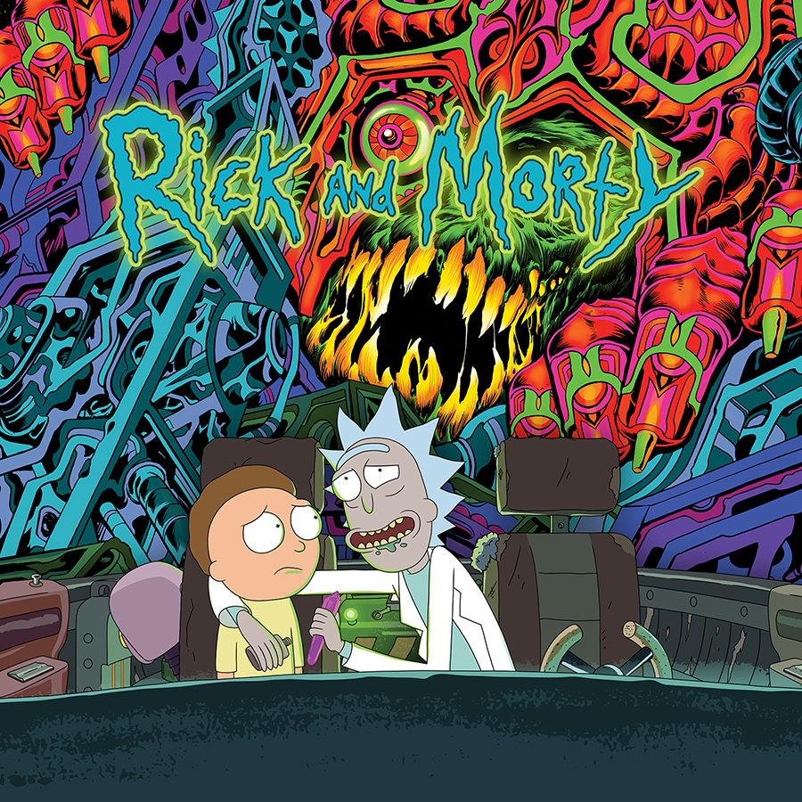 Rick And Morty - The Rick And Morty Soundtrack [2xLP]