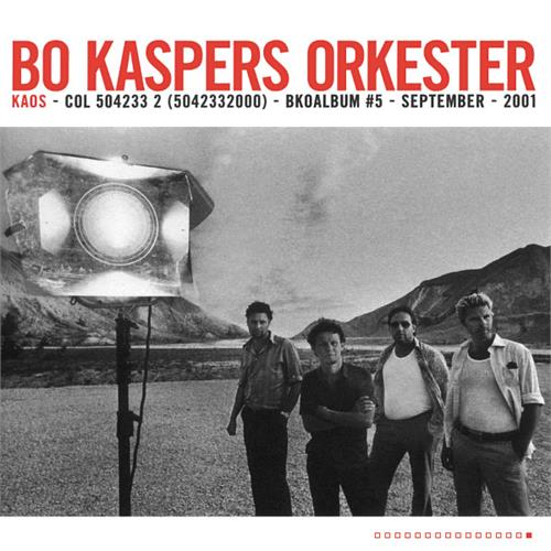 Bo Kaspers Orkester - Kaos [LTD LP] (Transparent Colored vinyl)
