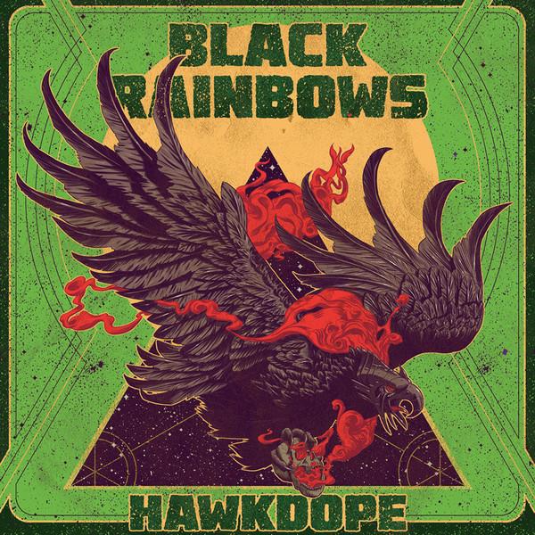 Black Rainbows - Hawkdope [LP] (Red vinyl)