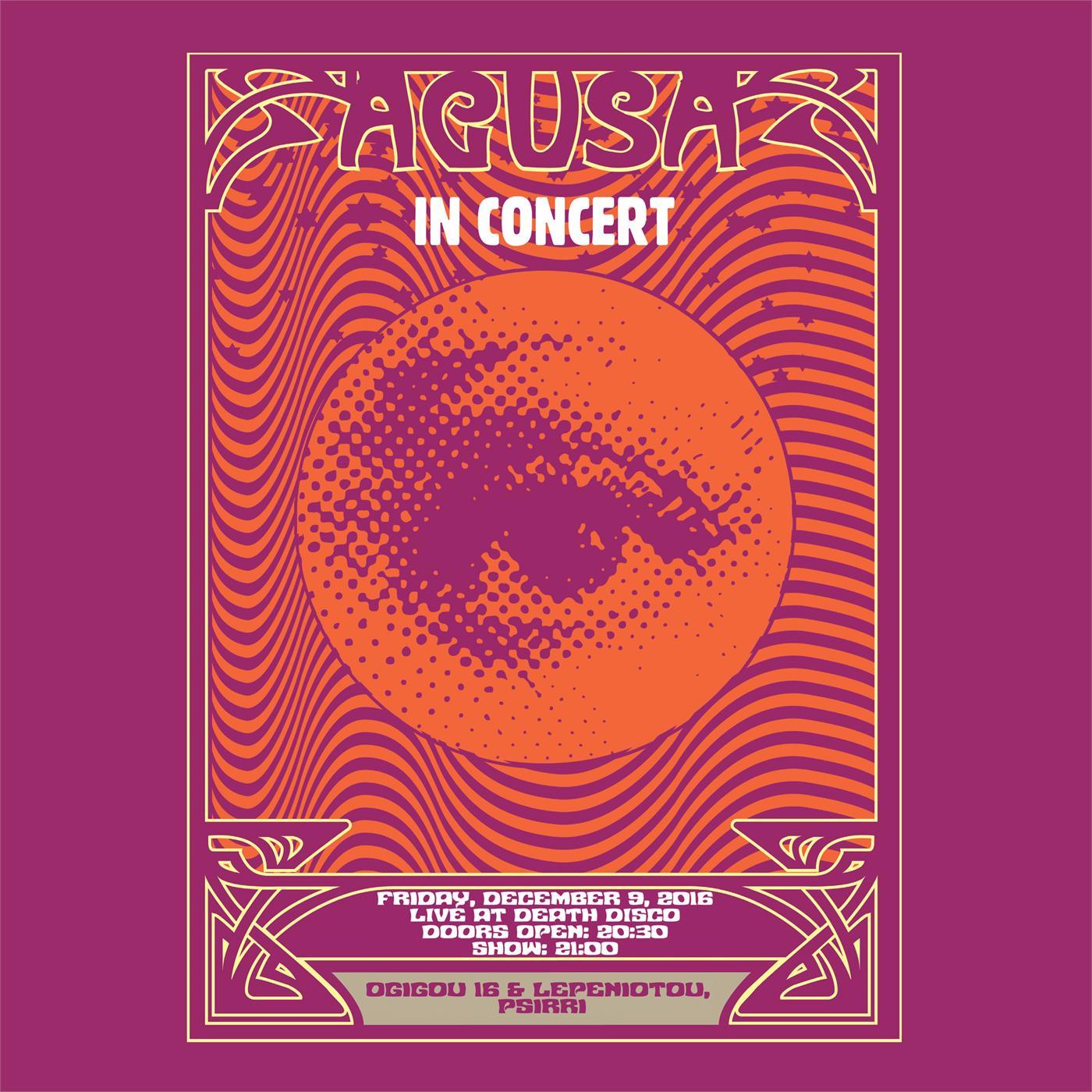 Agusa - In Concert [LP] (Clear vinyl)