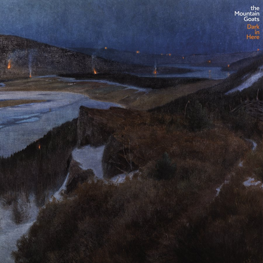 The Mountain Goats - Dark in Here [LTD 2xLP] (Blue Vinyl)