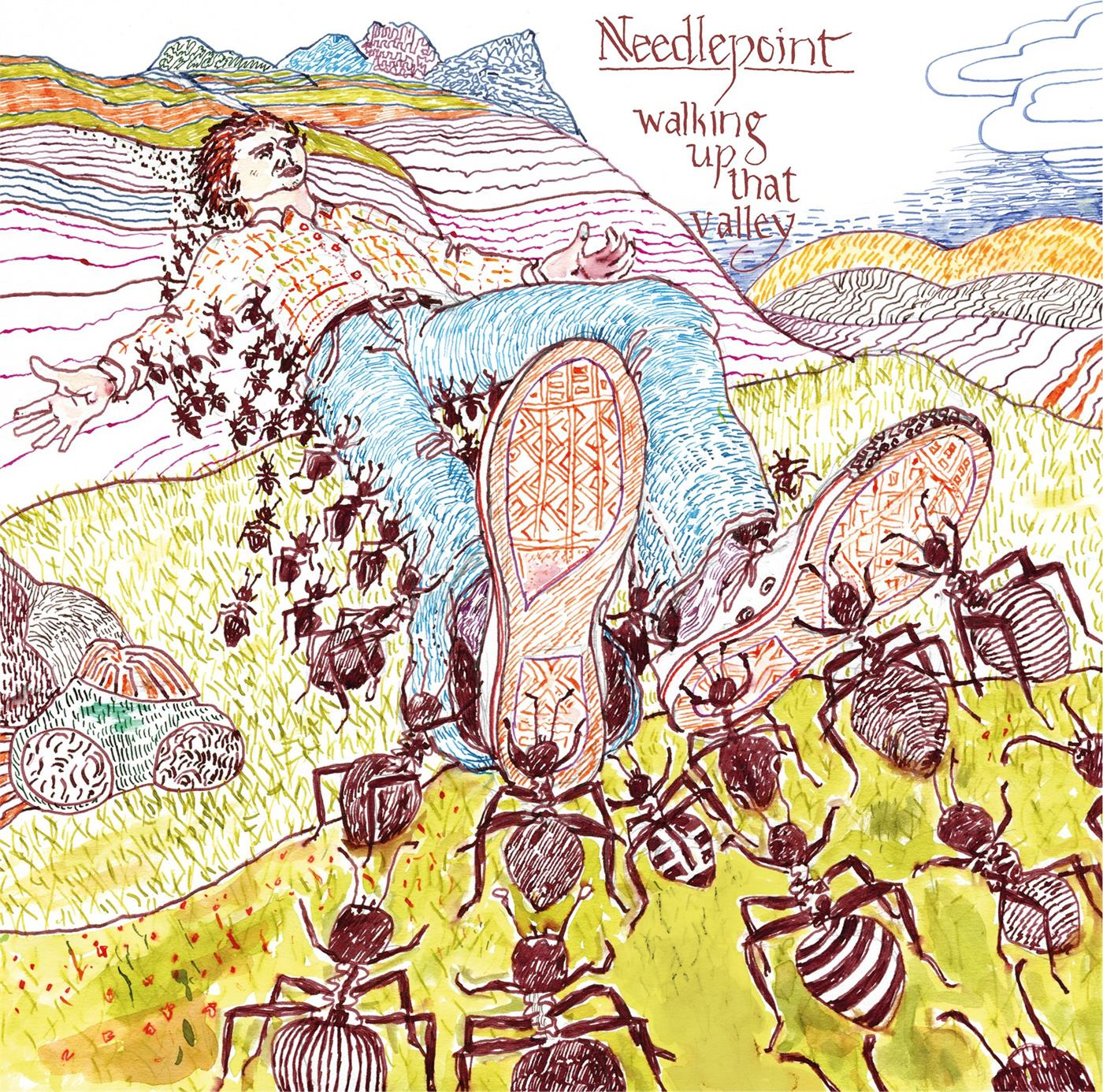 Needlepoint - Walking Up That Valley [LP]