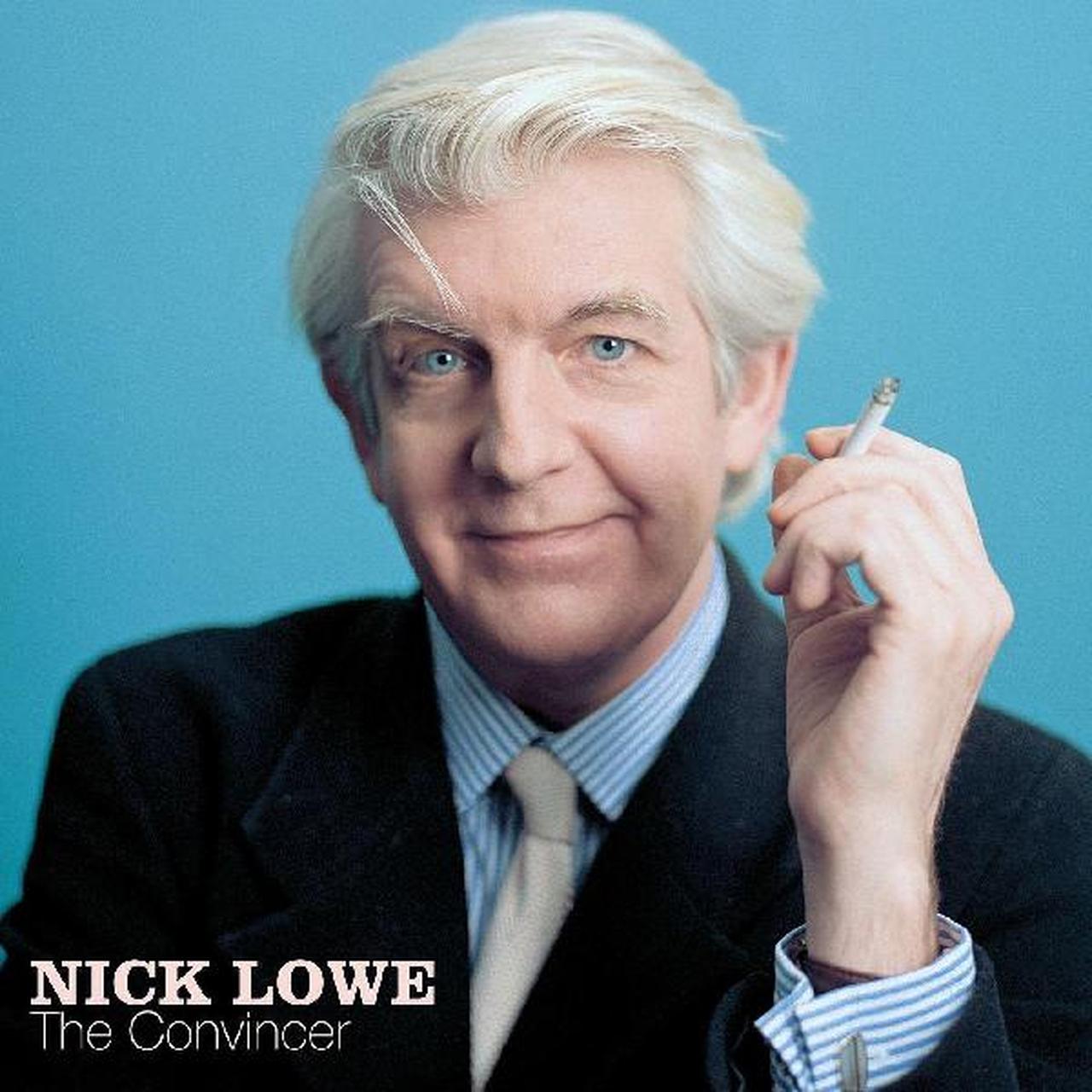 """Nick Lowe - Convincer [LP+7""""] (blue Vinyl)"""