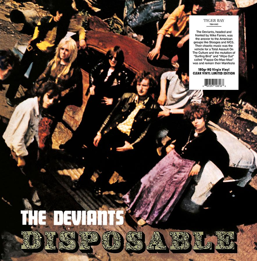 The Deviants - Disposable [LP] (Clear Vinyl)