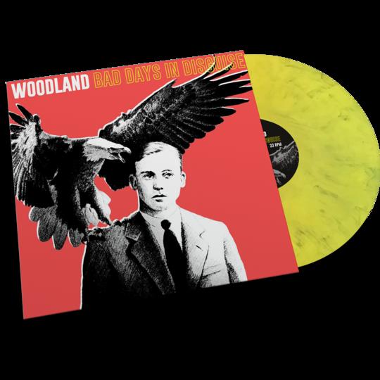 Woodland - Bad Days In Disguise [LTD LP] (Yellow & Black mixed vinyl)