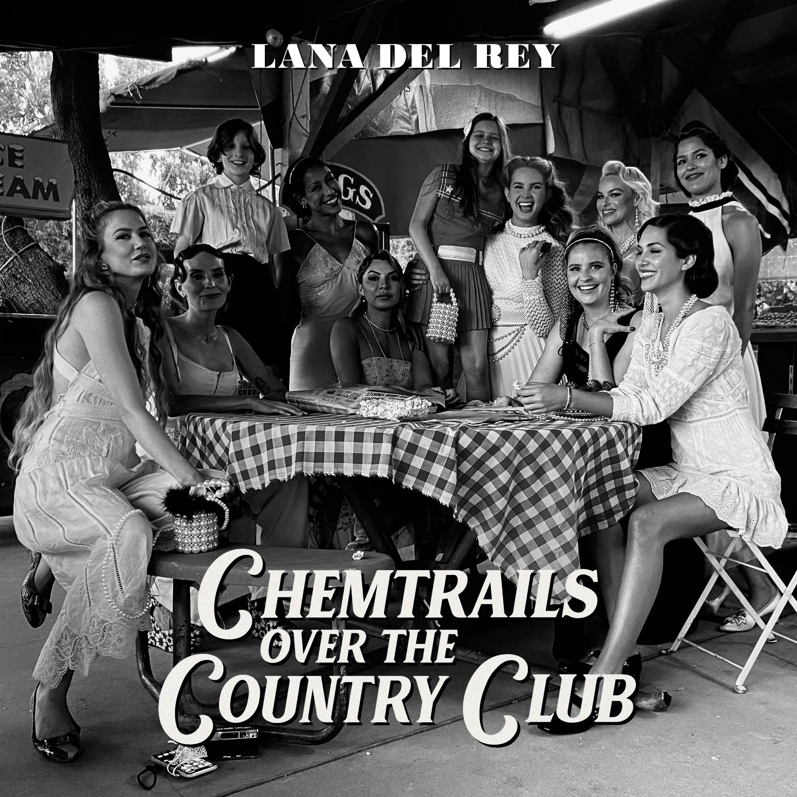 Lana Del Rey - Chemtrails Over The Country Club [LTD LP] (Yellow Vinyl)