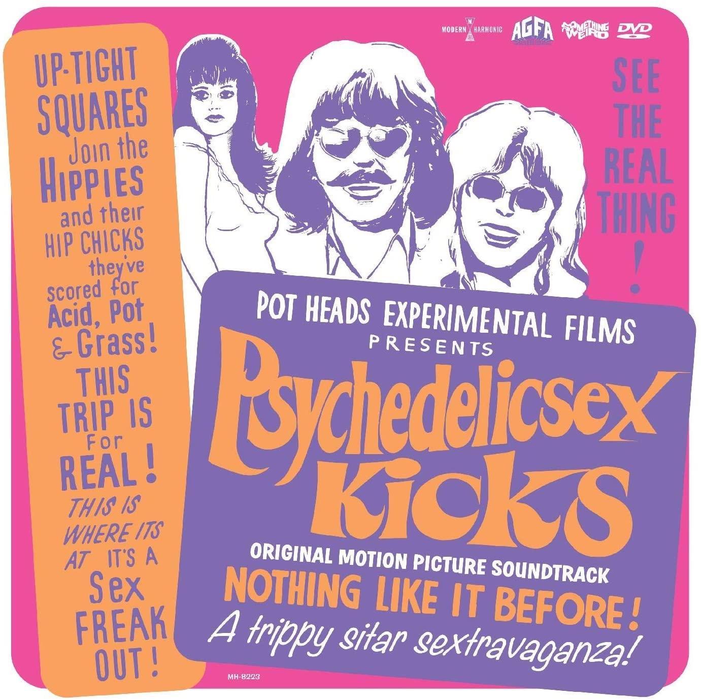 Original Soundtrack - Psychedelic Sex Kicks [LP+DVD]