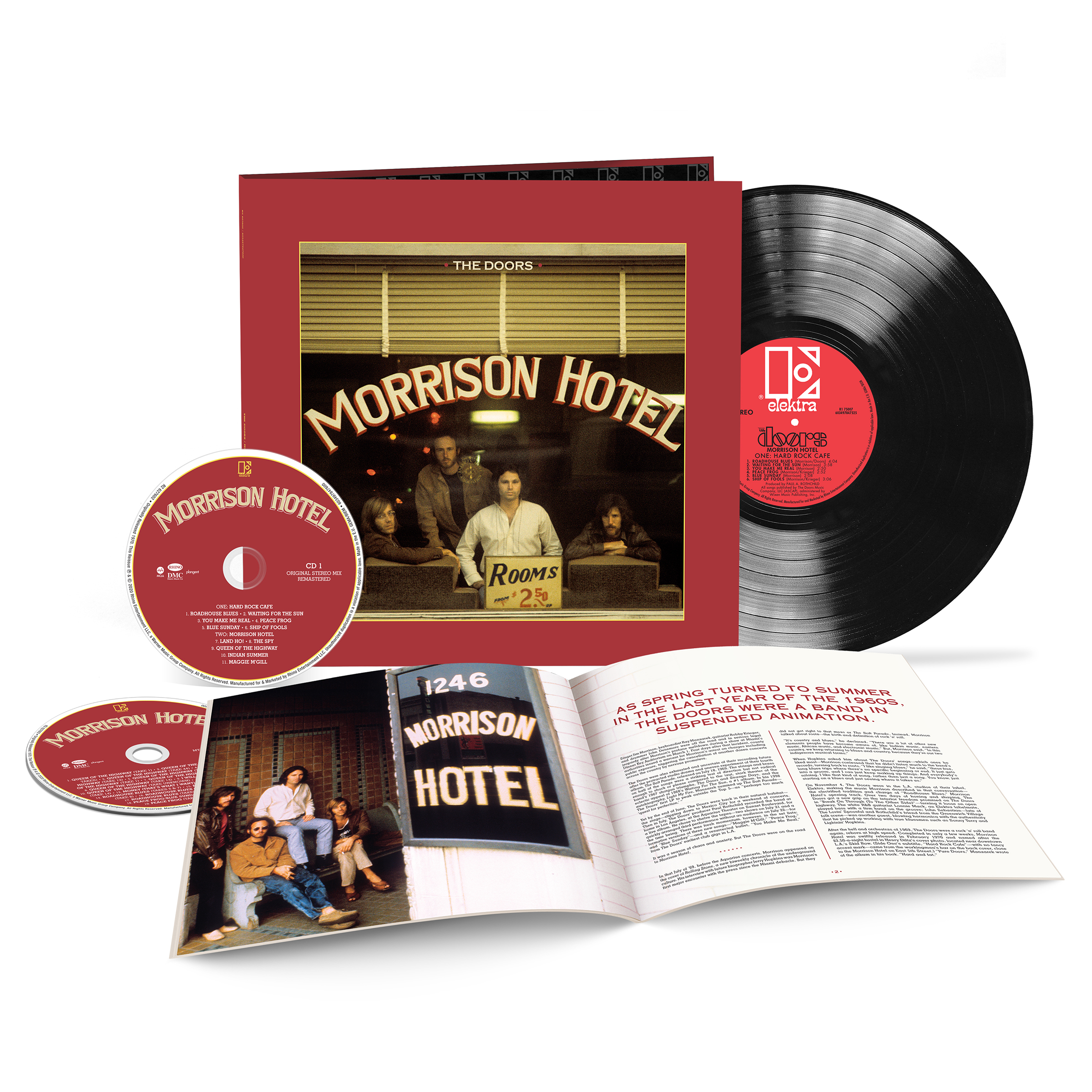 The Doors - Morrison Hotel [2xCD+LP] (50th Anniversary Deluxe Edition)