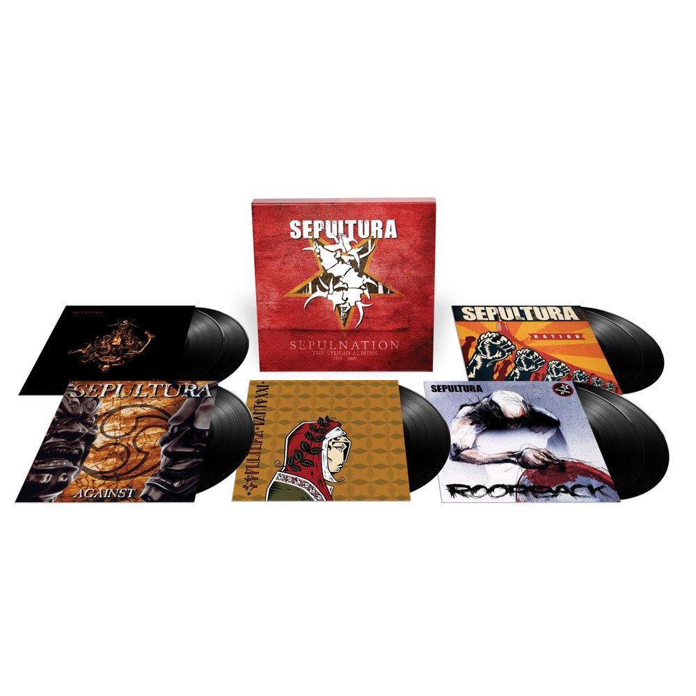 Sepultura - Sepulnation - The Studio Albums 1998 – 2009 [8xLP]