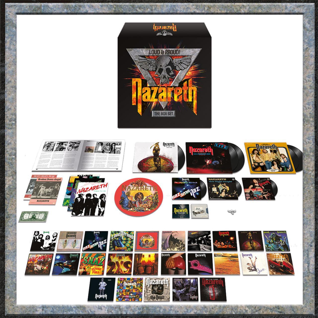 Nazareth - Loud & Proud! The Box Set [4LP + 32CD]
