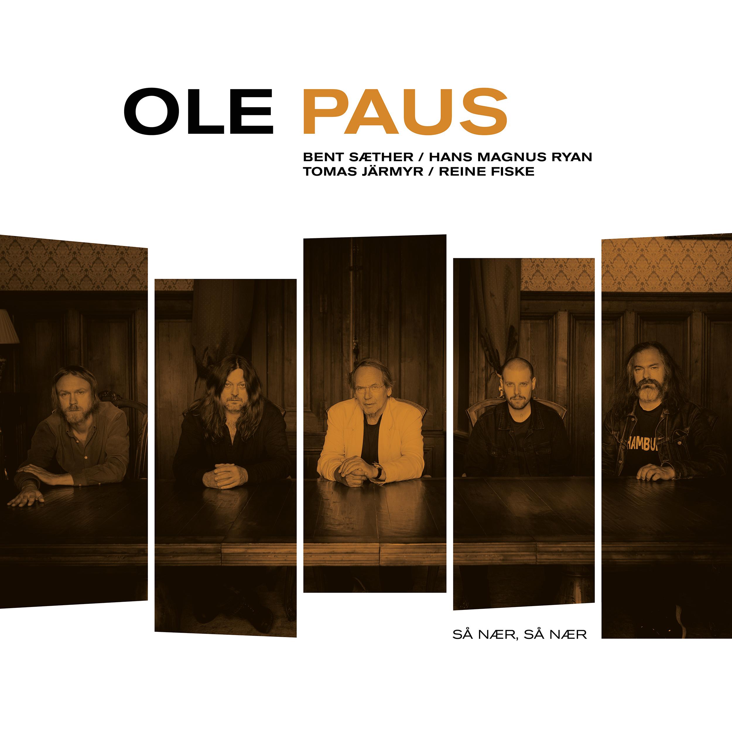 Ole Paus - Så nær, så nær [2xLTD LP] (Orange vinyl)