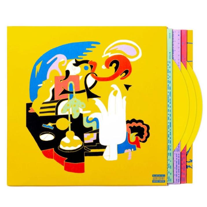 Mac Miller - Faces [LTD 3xLP] (Yellow vinyl)