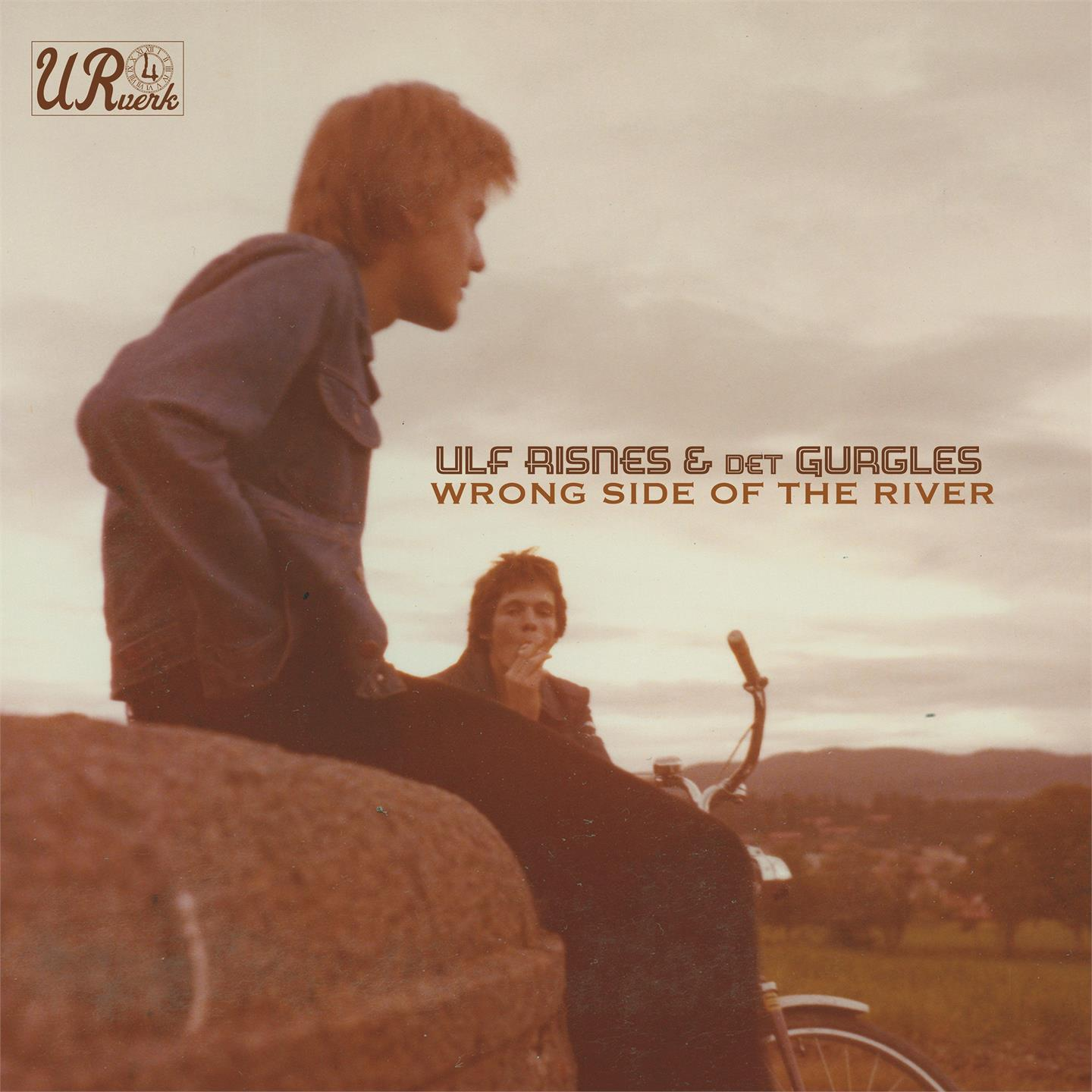 Ulf Risnes feat. Det Gurgle - Wrong Side of The River [LP]