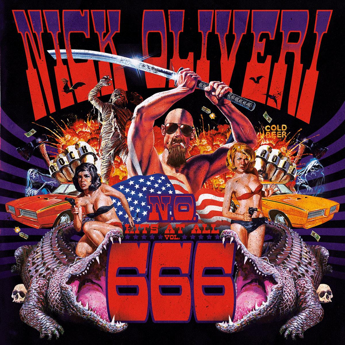 Nick Oliveri - N.O. Hits At All Vol. 666 [LP]