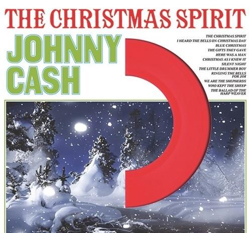 Johnny Cash - The Christmas Spirit [LP] (Coloured Vinyl)