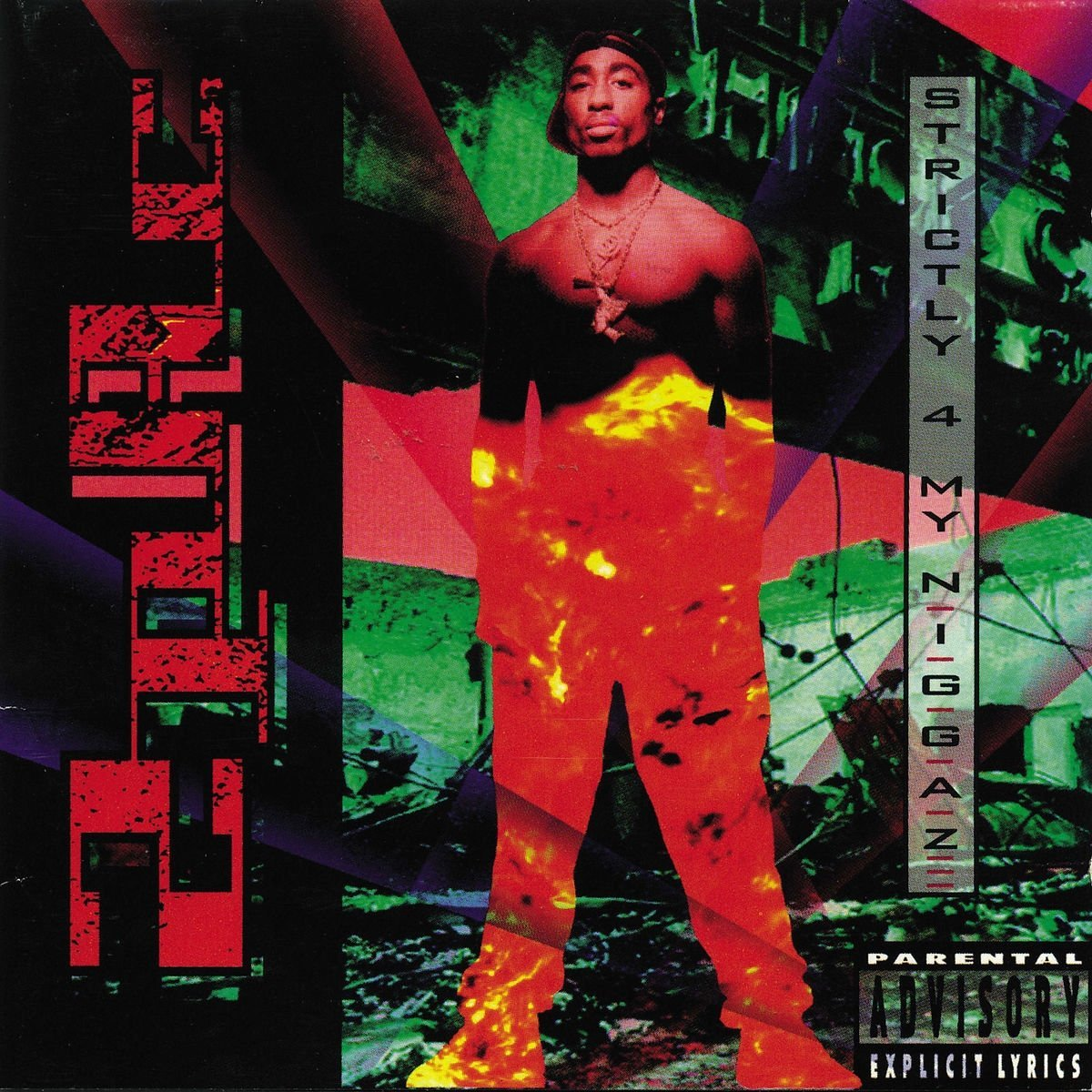 2Pac - Strictly 4 My N.I.G.G.A.Z... [LP]