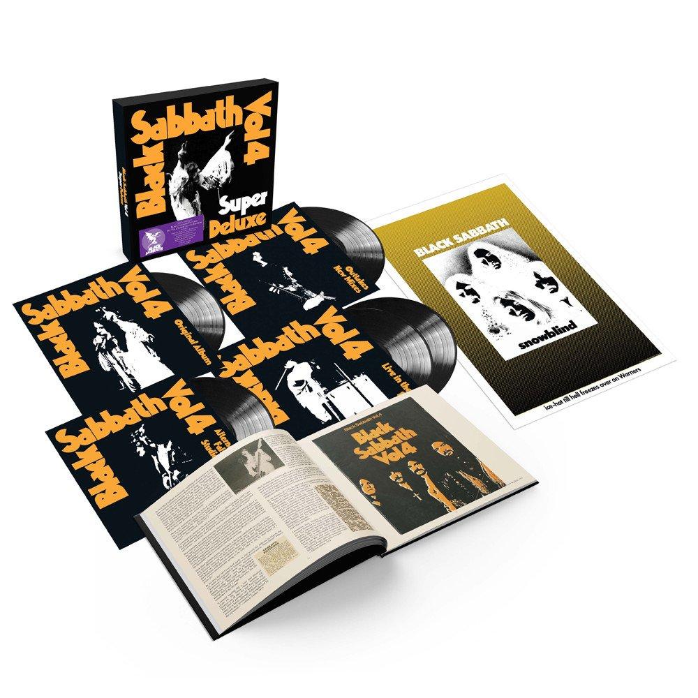 Black Sabbath - Vol 4 [LTD 5xLP] (Super Deluxe Box Set)