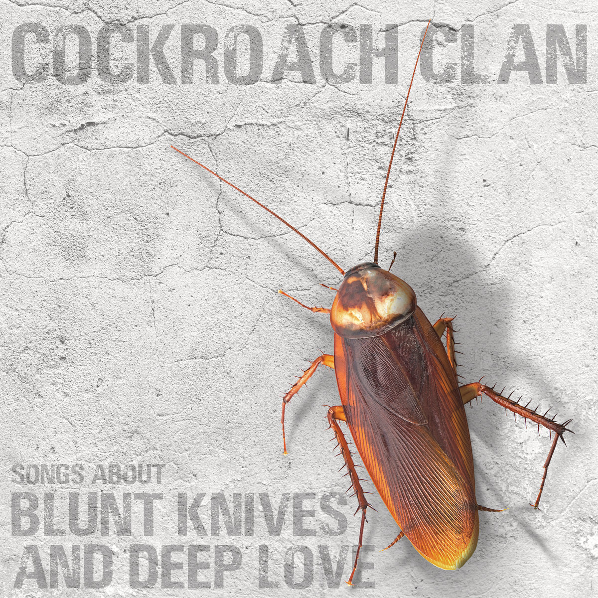 Cockroach Clan - Songs About Blunt Knives and Deep Love [LP]