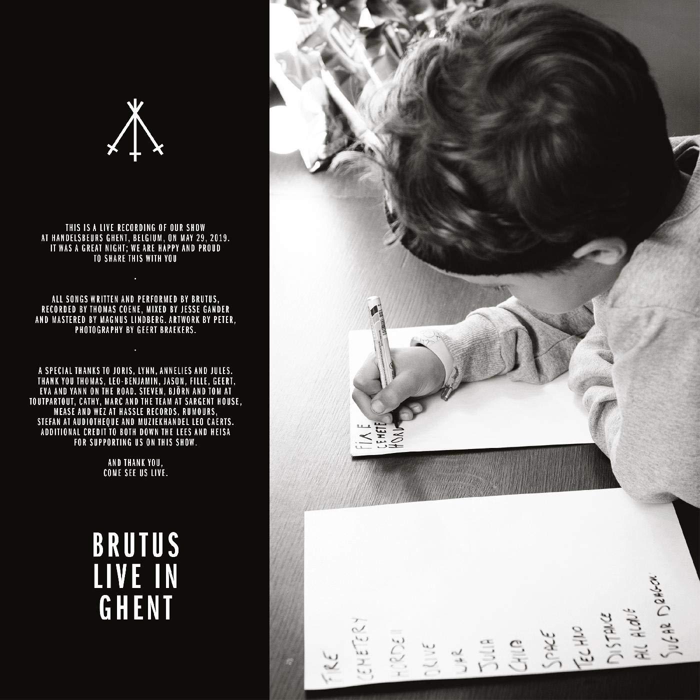 Brutus - Live In Ghent [2xLP]