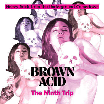 Brown Acid - The Ninth Trip [LP] (Coloured vinyl)