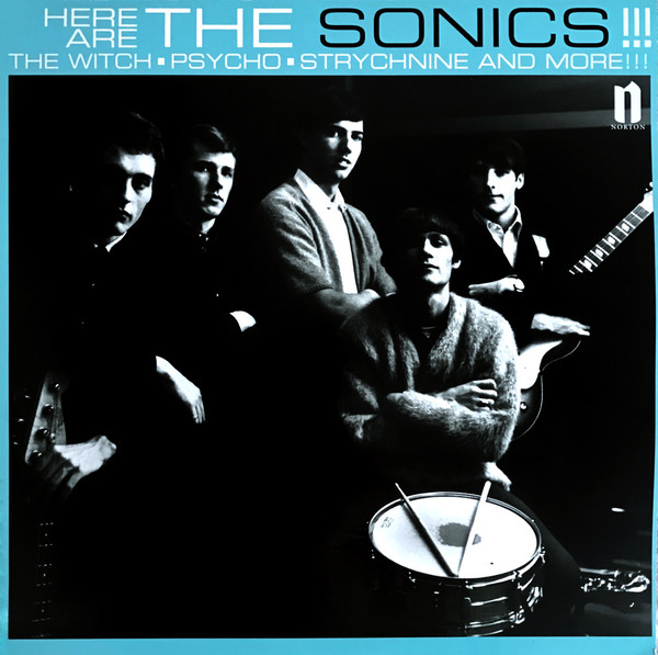 The Sonics ‎– Here Are The Sonics!!! [LP]