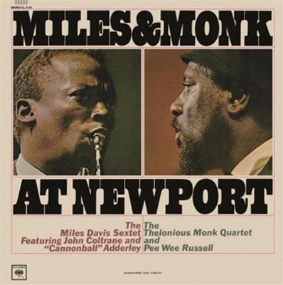 Miles Davis & Thelonious Monk - Miles & Monk At Newport [LP]