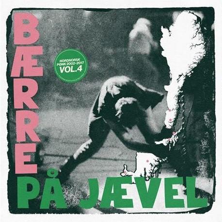 Diverse - Bærre på Jævel Vol. 4. [LP] (Green vinyl)