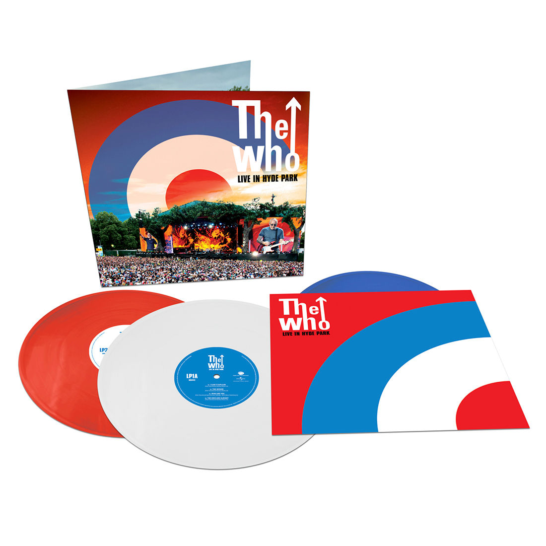 The Who - Live In Hyde Park [3xLP] (Coloured vinyl)