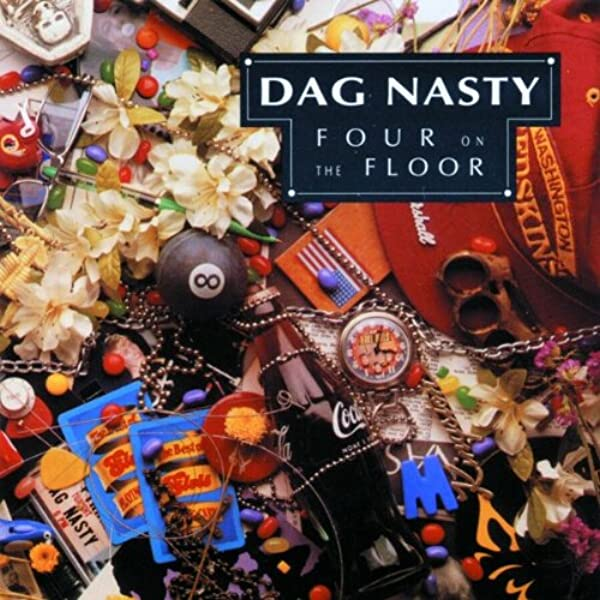 Dag Nasty - Four On The Floor [LP] (yellow vinyl)